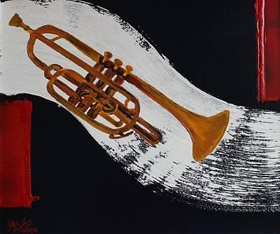 Painting - Acrylic Msc 117 by Mario Sergio Calzi