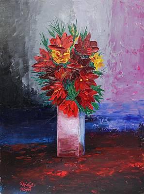 Painting - Acrylic Msc 135 by Mario Sergio Calzi