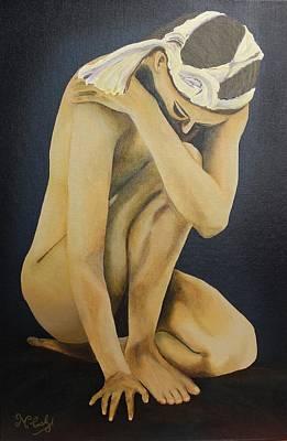 Painting - Acrylic Msc 189 by Mario Sergio Calzi