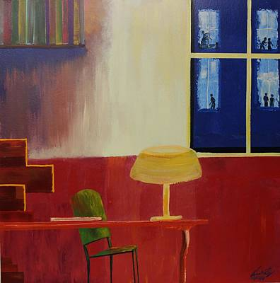 Painting - Acrylic Msc 196 by Mario Sergio Calzi