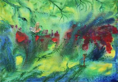 Painting - Acrylic Msc 202 by Mario Sergio Calzi
