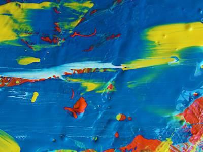 Acrylic Seas Art Print by Artist Ai