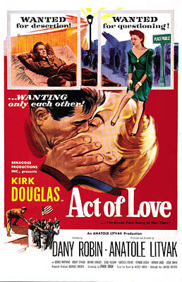 Act Of Love, Us Poster, Top From Left Art Print