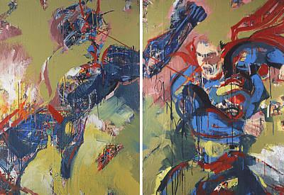 Painting - Action Abstraction No. 20 by David Leblanc