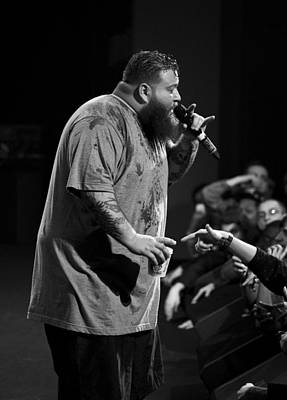 Photograph - Action Bronson by Christopher Prosser