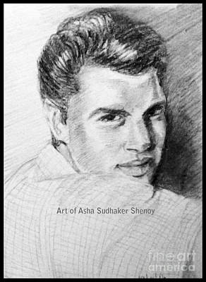 Drawing - Actor by Asha Sudhaker Shenoy