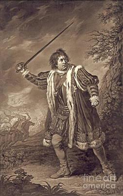 1772 Photograph - Actor David Garrick 1772 by Padre Art
