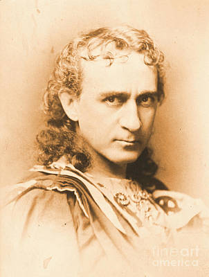 Actor Edwin Booth C1860 Art Print by Padre Art