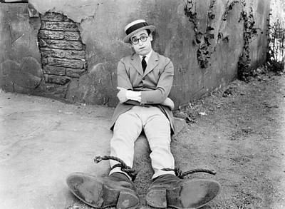 Photograph - Actor Harold Lloyd by Underwood Archives