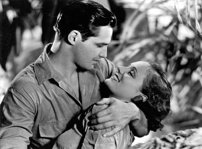 Movie Star Photograph - Actors' Jungle Romance by Underwood Archives