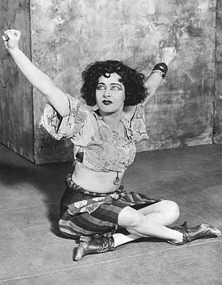 Actress Alla Nazimova Art Print by Underwood Archives