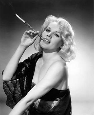 Actress Carroll Baker Art Print by Underwood Archives