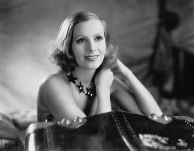 1931 Movies Photograph - Actress Greta Garbo by Underwood Archives