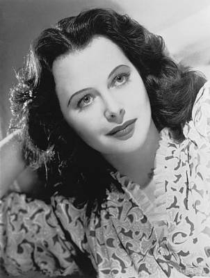 Actress Hedy Lamarr Art Print