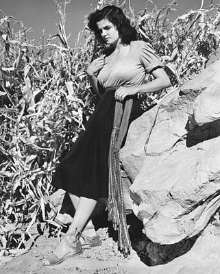 Film Still Photograph - Actress Jane Russell by Bruce Bailey