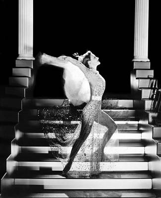 Dance Photograph - Actress Joan Crawford by Underwood Archives