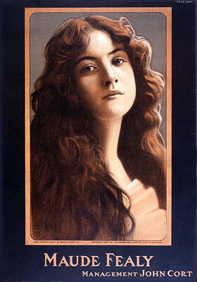 Actress Maude Fealy Art Print by Gary Bodnar