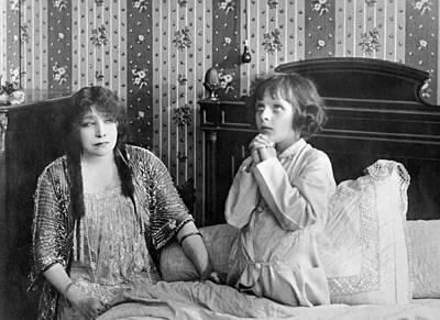 Actress Sarah Bernhardt Art Print by Underwood Archives
