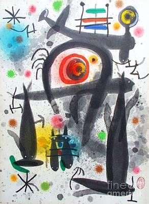 Miro Painting - Acuatico Triunfo De La Imaginacion by Roberto Prusso