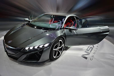 Photograph - Acura N S X Sh Concept 2013 by Dragan Kudjerski