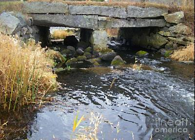 Photograph - Acushnet River - Massachusetts Art Print by Spirit Baker