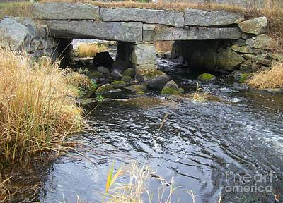 Photograph - Acushnet River - Massachusetts by Spirit Baker