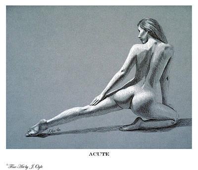 Acute Print Version Art Print