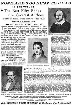 Literature Painting - Ad Abridged Literature by Granger