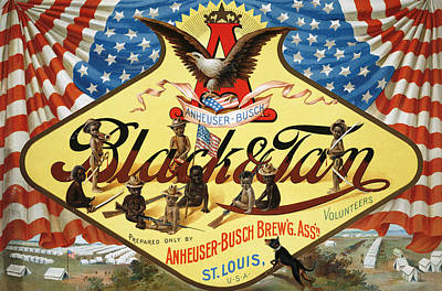Busches Painting - Ad Anheuser-busch, C1899 by Granger
