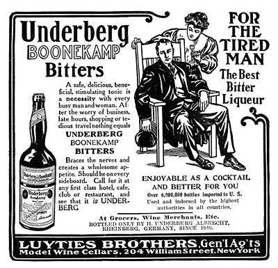 Ad Bitters, 1906 Print by Granger