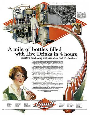 Ad Bottling, 1927 Art Print by Granger