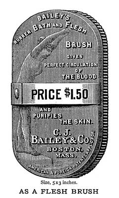Hygiene Painting - Ad Brush, 1888 by Granger