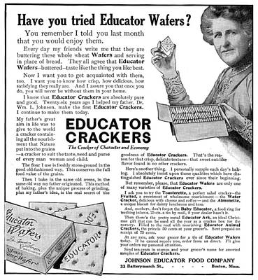 Photograph - Ad Crackers, 1911 by Granger