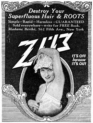 Painting - Ad Hair Removal, 1926 by Granger