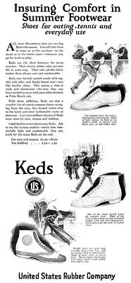 Ked Painting - Ad Keds, 1920 by Granger