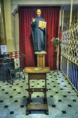 Religious Art Photograph - Ad Maiorem Dei Gloriam by Ian Mitchell