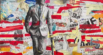 Ad Man Genesis Print by Giorgio Russo