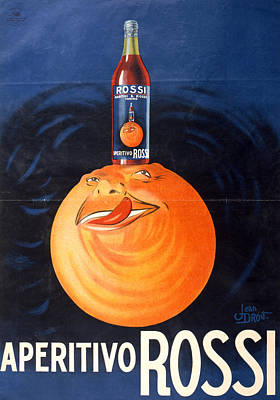 Rossi Painting - Ad Martini & Rossi, C1935 by Granger