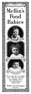 Photograph - Ad Mellin's Baby Food by Granger