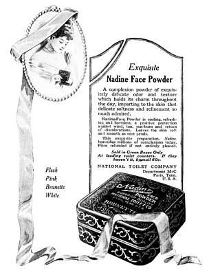 Ad Nadine Face Powder Art Print by Granger