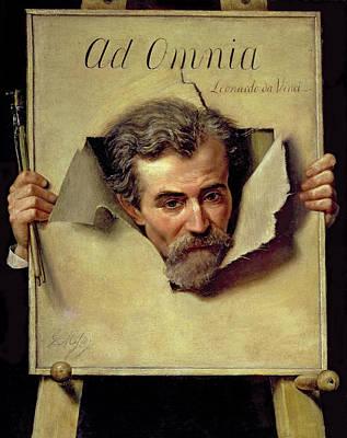 Ad Omnia Leonardo Da Vinci, Thought Art Print