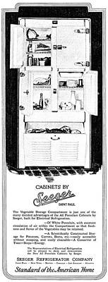 American Food Painting - Ad Refrigerator, 1927 by Granger