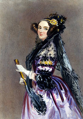 Ada Painting - Ada Lovelace by Mountain Dreams