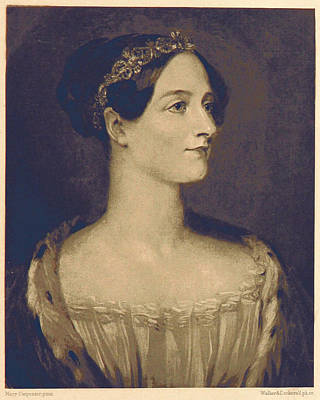 Ada Photograph - Ada Lovelace, English Mathematician by British Library