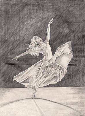 Adagio Art Print by Beverly Marshall