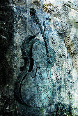 Cello Photograph - Adagio For A Broken Dream by Joachim G Pinkawa