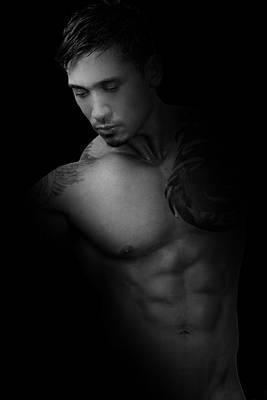 Eroticism Photograph - Adam 5 by Mark Ashkenazi