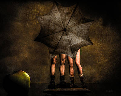 Pop Surrealism Photograph - Adam And Eve by Bob Orsillo