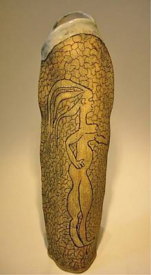 Sculpture - Adam And Eve by Mario MJ Perron