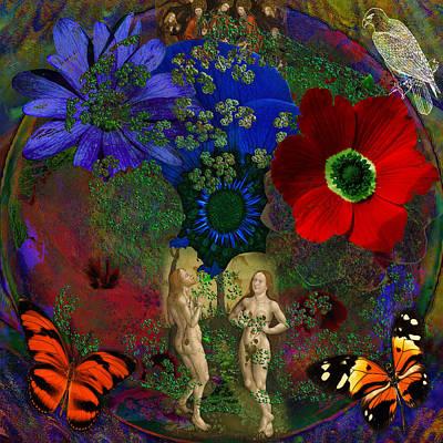 Solar Photograph -  Adam And Eve's Solar Earth   by Joseph Mosley